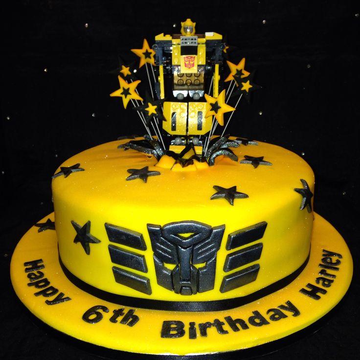 7 Transformers Bumblebee Car Birthday Cakes Photo Bumblebee Car