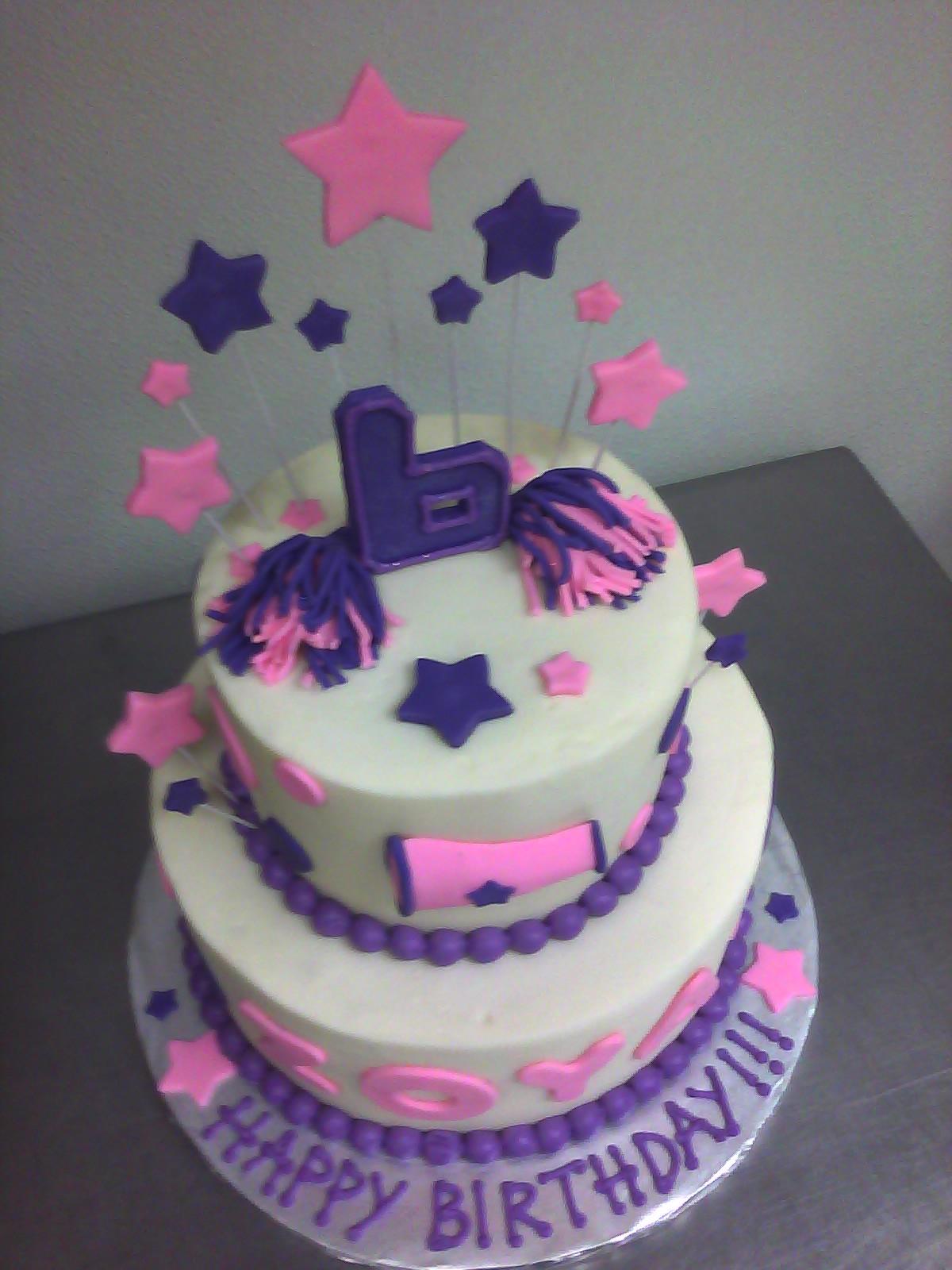 Cheerleading Birthday Cake Ideas
