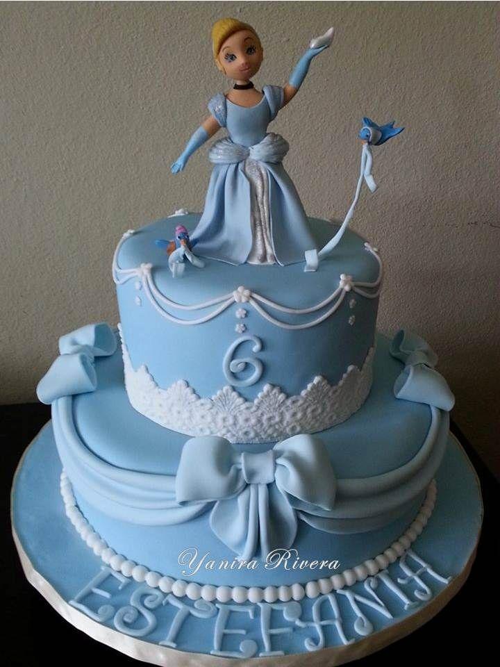 11 Cinderella Birthday Cakes For Girls Photo Cinderella Birthday