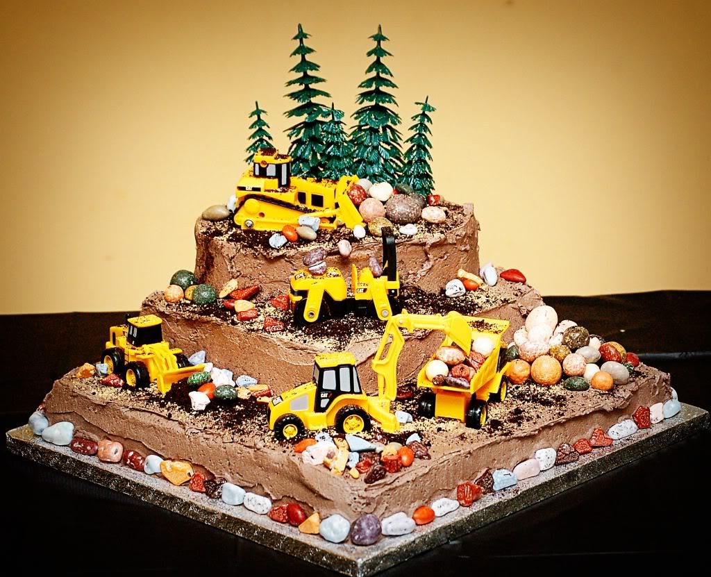 Peachy 12 Construction Birthday Cakes For Little Boys Photo Funny Birthday Cards Online Fluifree Goldxyz