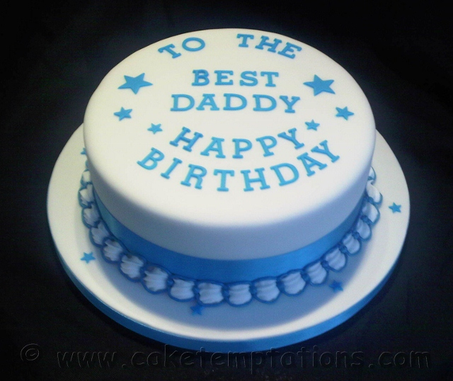 10 Fathers Birthday Cakes For Boys Photo