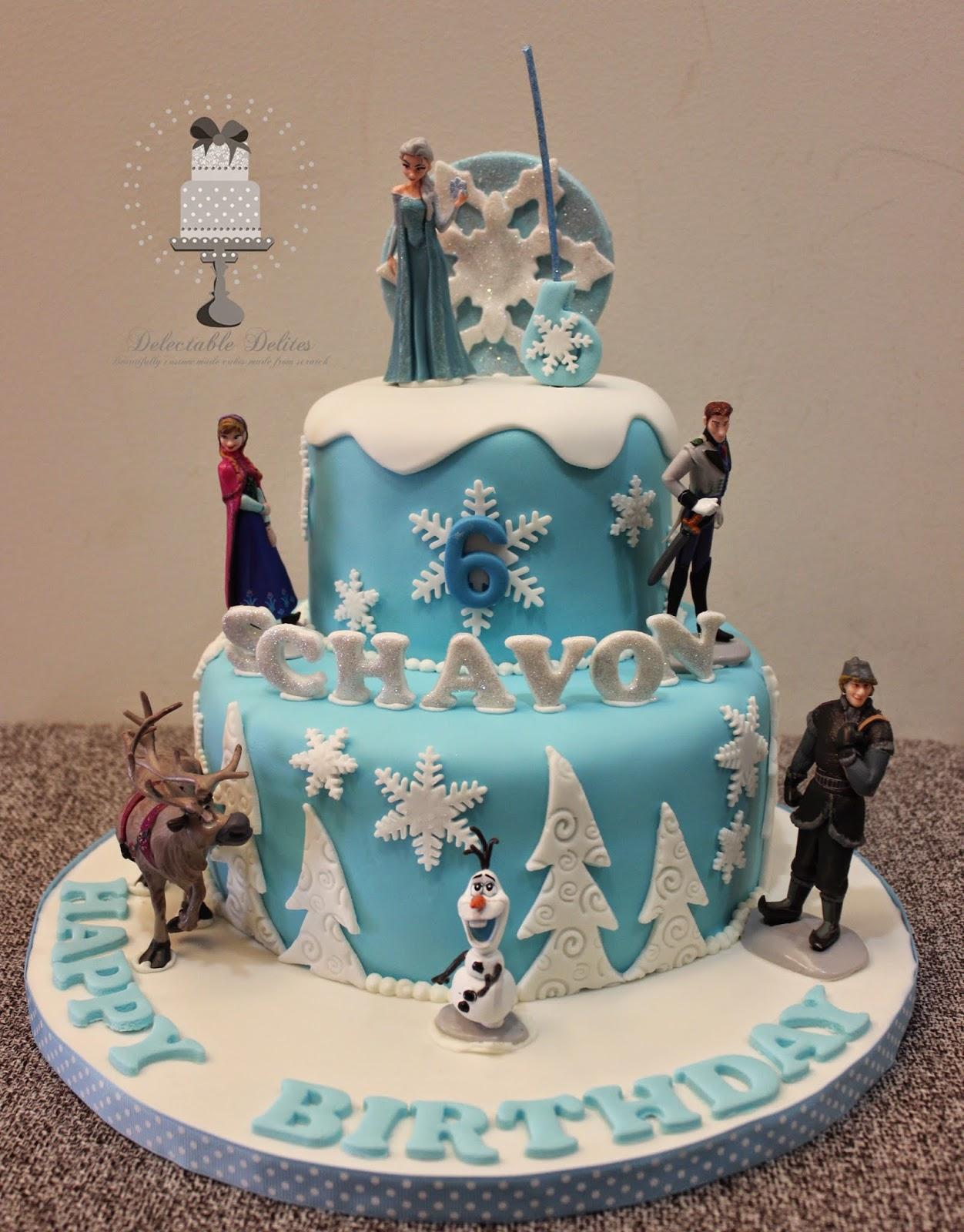 13 By Disney Frozen Cakes Photo