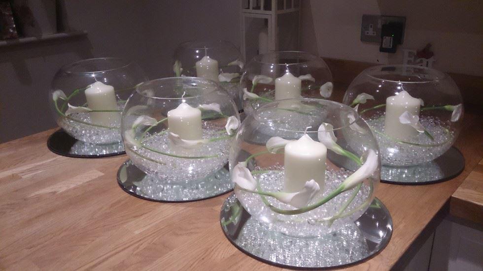 11 Using Fish Bowl Wedding Cakes Photo Fish Bowl Wedding Cake