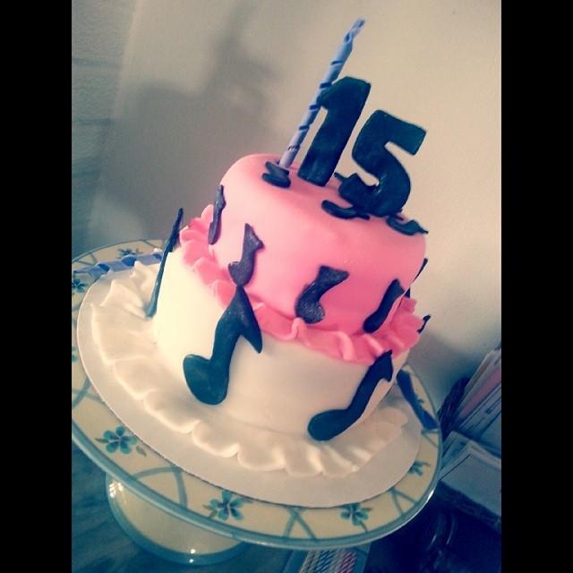 7 15 Birthday Sheet Cakes For Teenage Girls Sweet Photo Chevron
