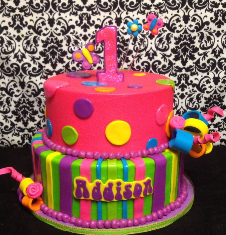 Fine 11 Lisa Frank Themed Birthday Cakes Photo Lisa Frank Cake Funny Birthday Cards Online Alyptdamsfinfo