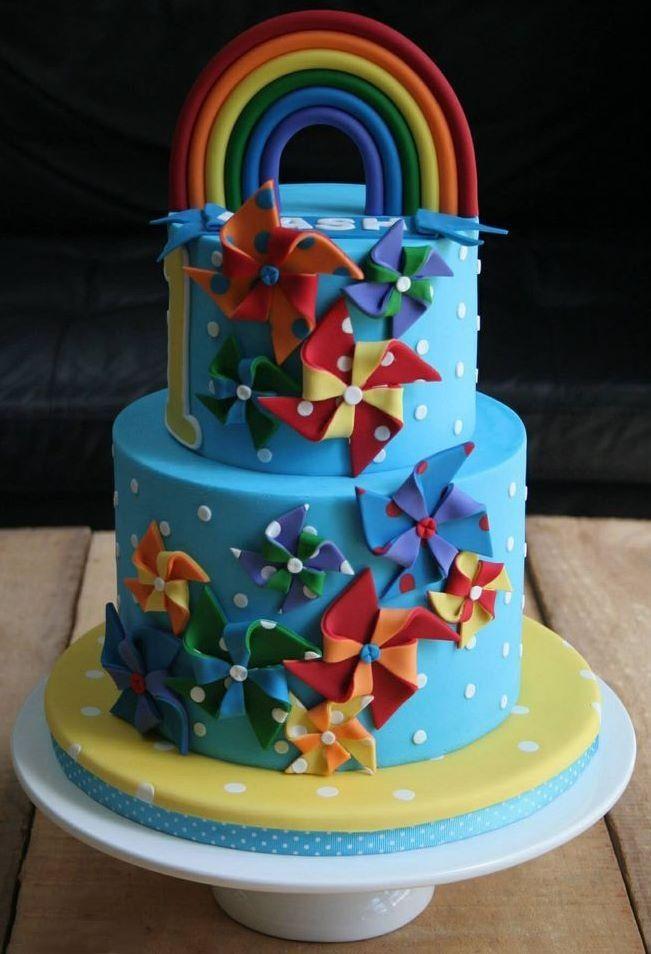 Tremendous 11 Lisa Frank Themed Birthday Cakes Photo Lisa Frank Cake Funny Birthday Cards Online Alyptdamsfinfo