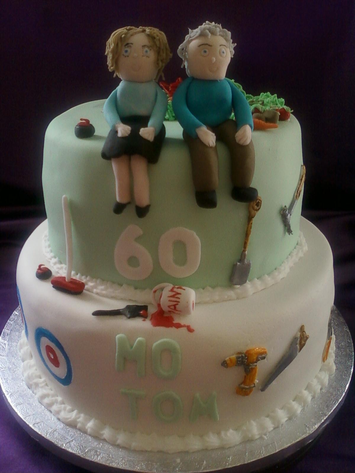 Men 60th Birthday Cake Ideas