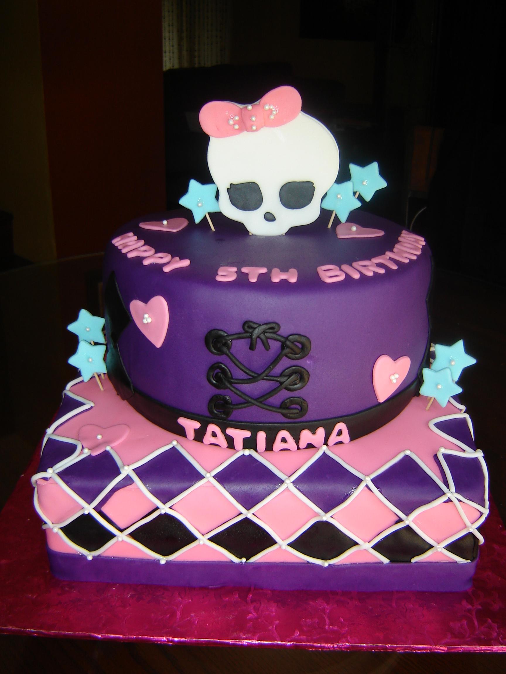 11 Cakes Monster High Com Photo Monster High Birthday Cake