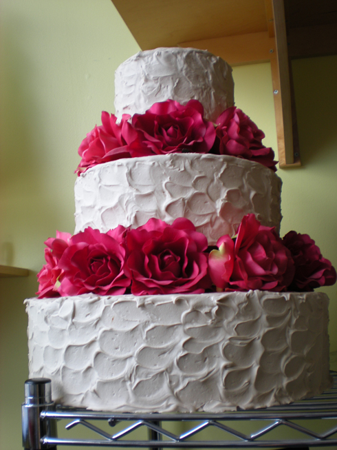 9 Wedding Cakes With No Fondant Photo Simple Wedding Cakes Non