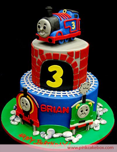 Surprising 8 Thomas The Train Birthday Cakes For Kids Photo Thomas Train Personalised Birthday Cards Paralily Jamesorg