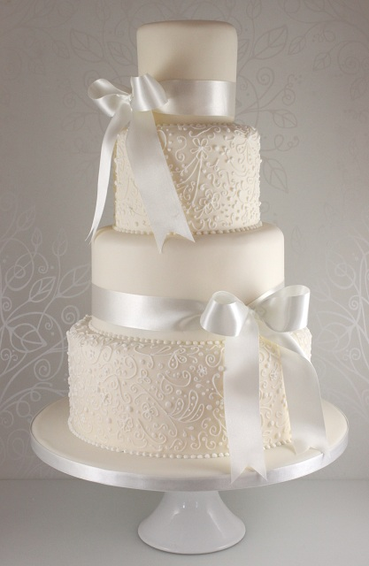 13 Lace Wedding Cakes The Cake Boss Photo Butterfly Wedding Cake