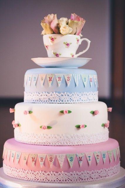 Vintage Tea Party Cake Ideas
