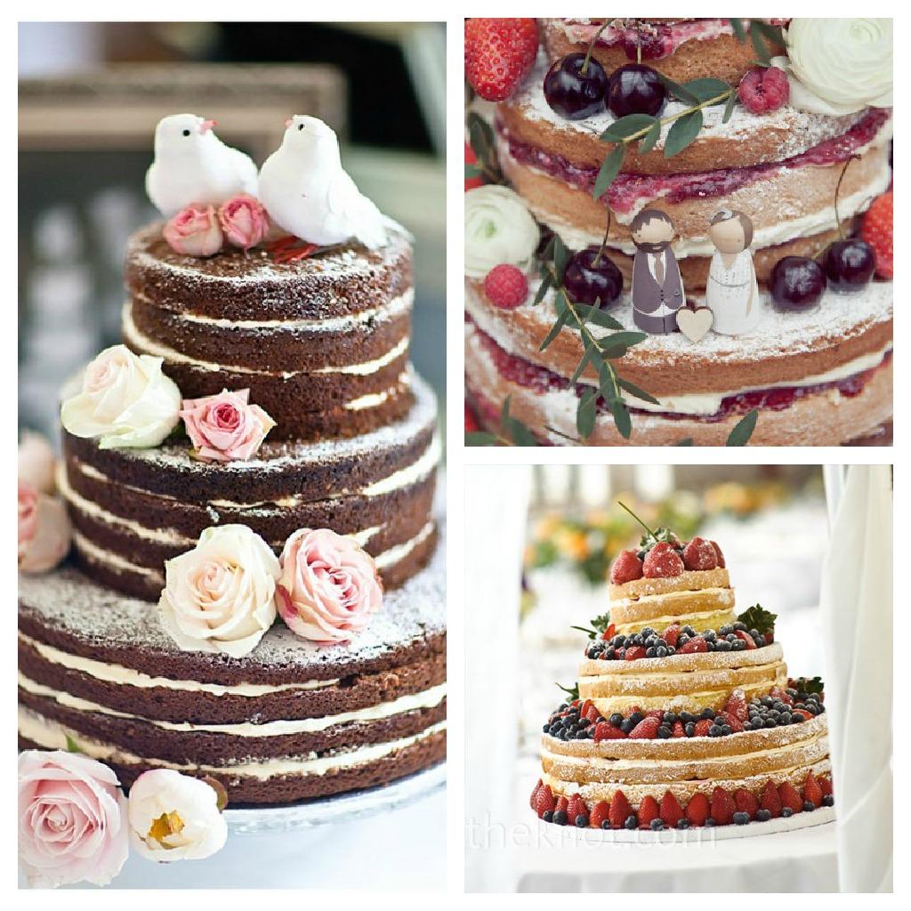 9 Wedding Cakes With No Fondant Photo - Simple Wedding Cakes Non ...