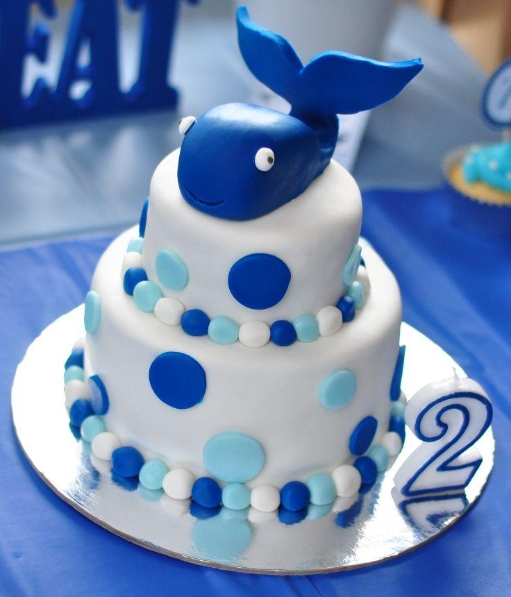 Whale Birthday Cake Ideas