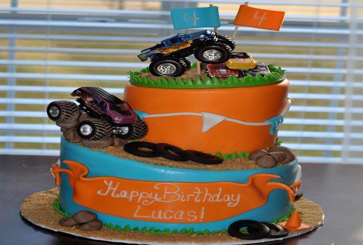 4 Year Old Boy Birthday Cake Ideas