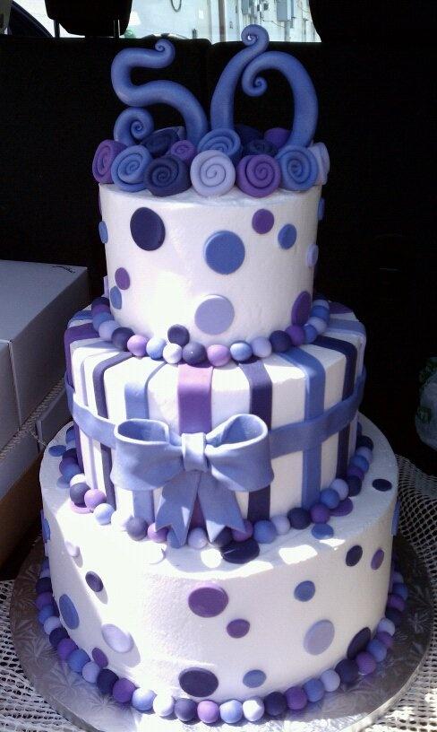 12 50th Birthday Cakes Photo