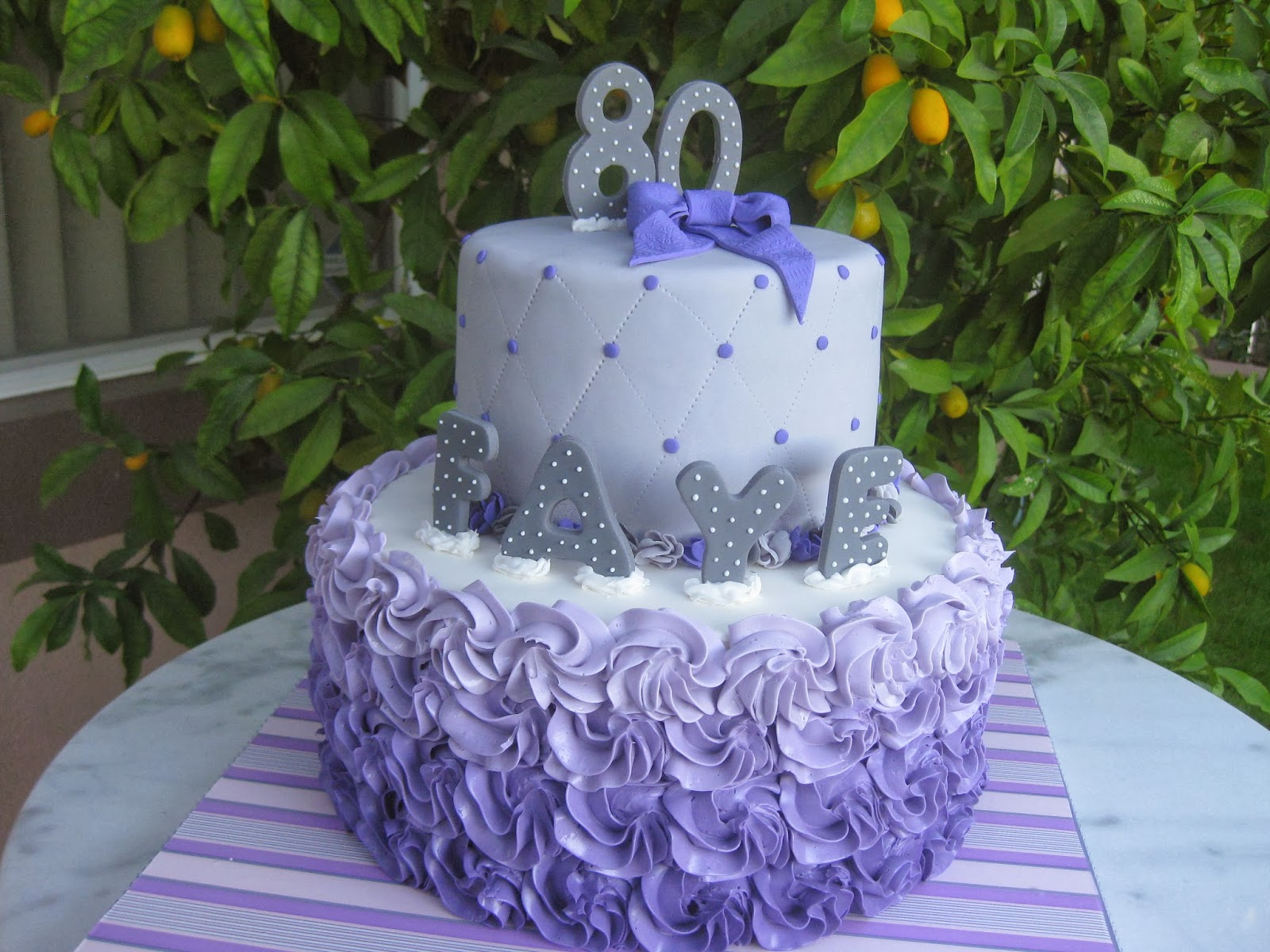 7 Senior Birthday Cakes For Ladies Photo