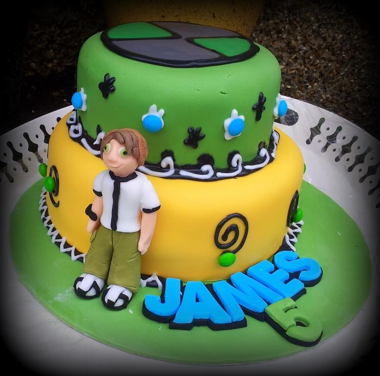 Stupendous 10 Ben 10 Cakes Birthday Cake Photo Ben 10 Birthday Cake Ben 10 Personalised Birthday Cards Cominlily Jamesorg