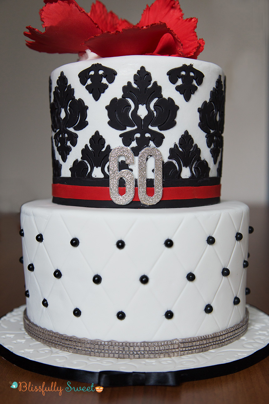 Cool 9 60Th Birthday Cakes For Women Red Photo Black And White 60Th Funny Birthday Cards Online Elaedamsfinfo