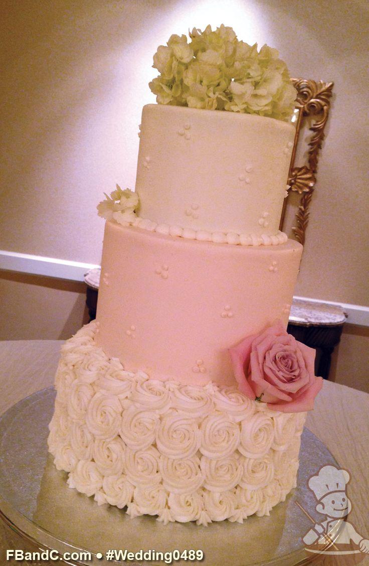 6 10 Wedding Cakes With Fresh Roses With Lares Photo - Wedding Cake ...