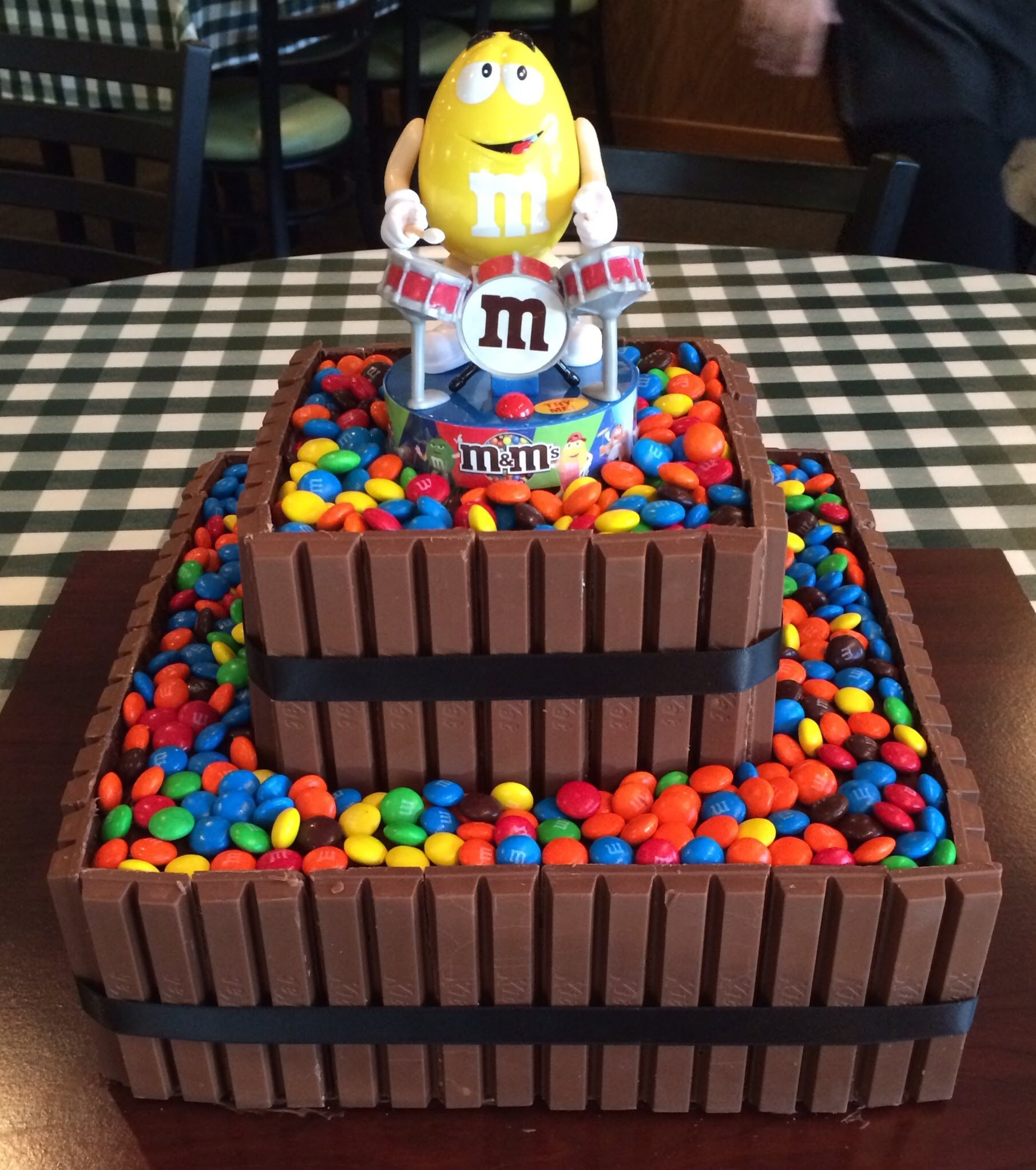 Admirable 11 Mm Happy Birthday Cakes Photo Easy Mm Cake M And M Cake And Funny Birthday Cards Online Bapapcheapnameinfo