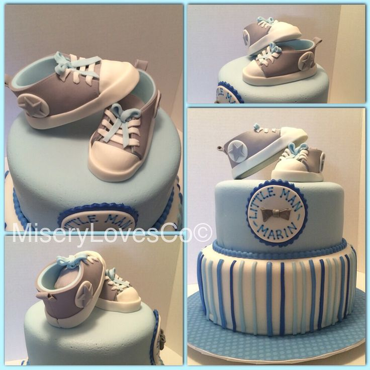 5fc07e8a2883 9 Shoes Boy Cakes Photo - Baby Converse Fondant Template