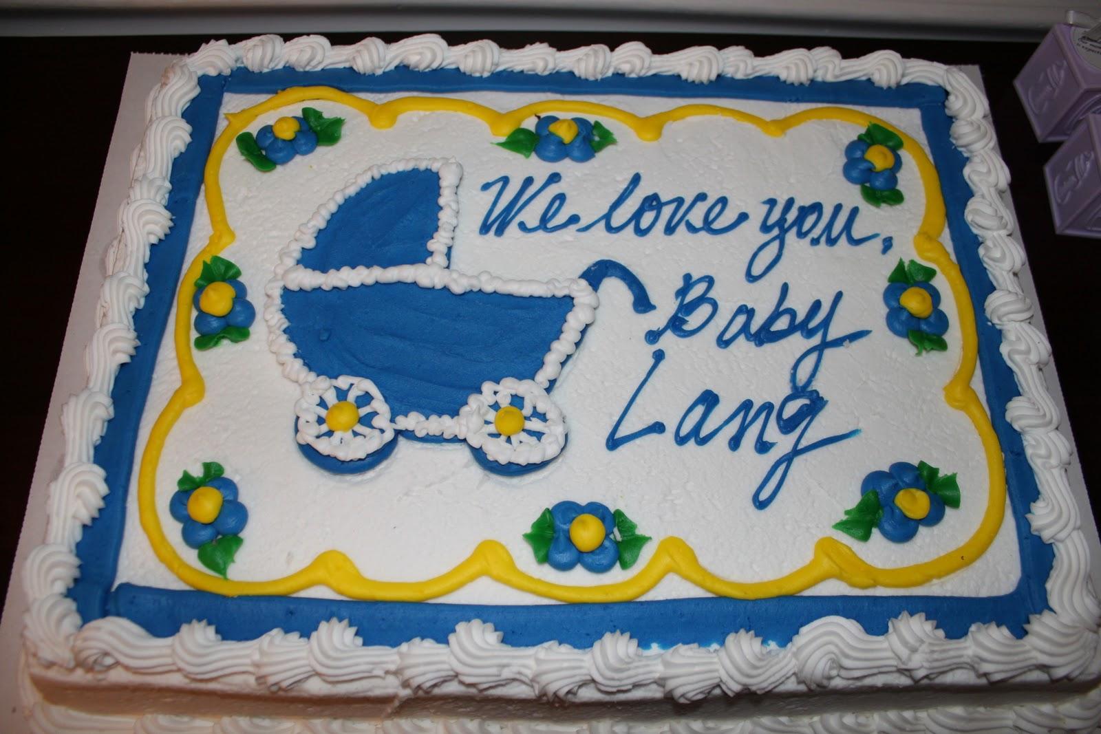 8 Costco Baby Boy Shower Cakes Photo Costco Baby Shower Cakes