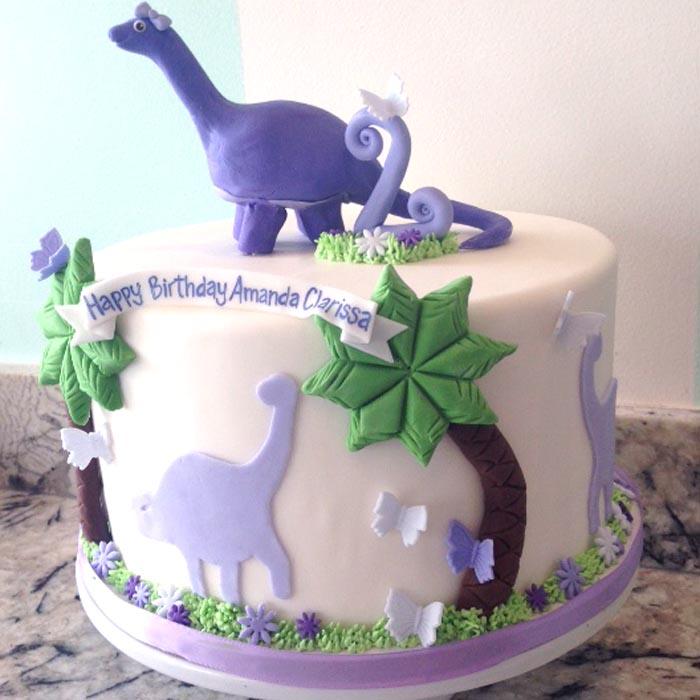 12 Dinosaur Cakes For Girls Photo