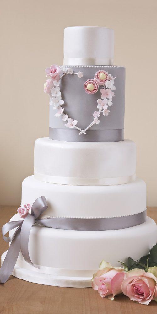 10 Grey And White Wedding Cakes Photo Dove Grey Wedding Cake Grey