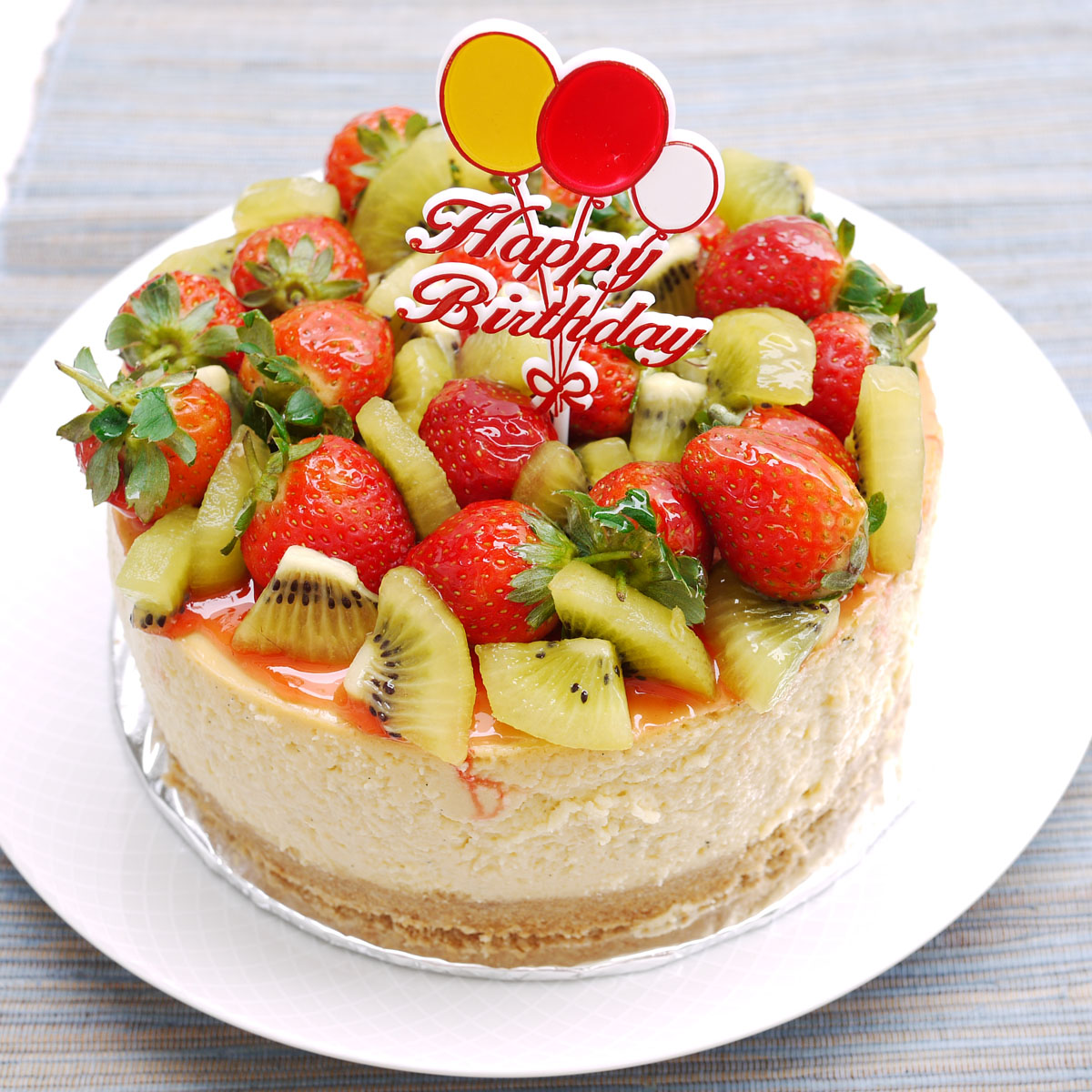 11 Images Birthday Cakes Decorated With Fruit Photo Chocolate