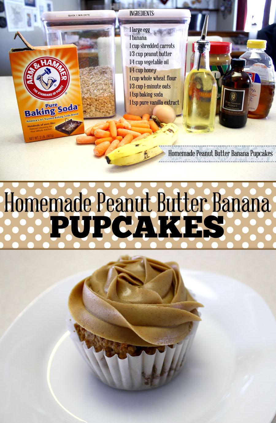 12 Homemade Puppy Cupcake Cakes Photo Homemade Dog Cupcake Recipes