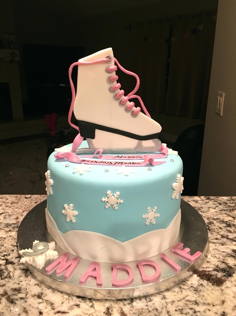 9 Graduation Cakes For Figure Skaters Photo Figure Skating