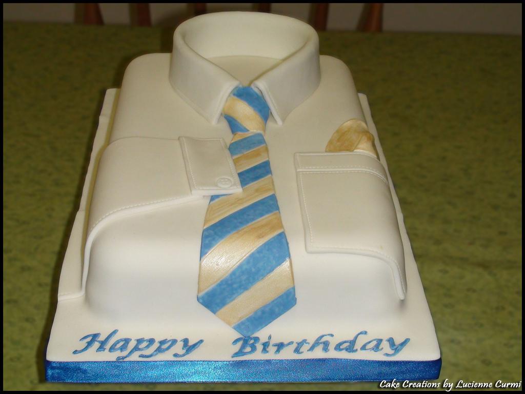 Men Birthday Cake Shirt