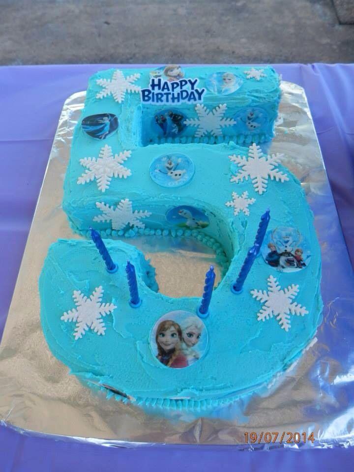 Groovy 7 Frozen Cakes 5 Photo Number 5 Birthday Cake Frozen Frozen Personalised Birthday Cards Akebfashionlily Jamesorg