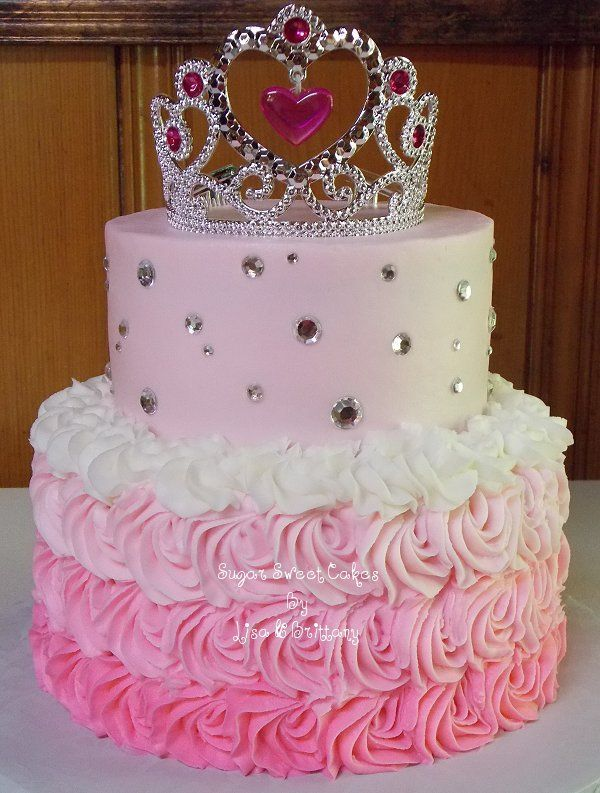 Pinterest Princess Birthday Cakes