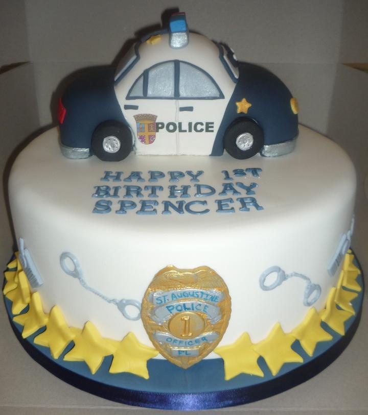 Tremendous 8 Police Fondant Cakes Photo Police Officer Retirement Cake Funny Birthday Cards Online Hendilapandamsfinfo