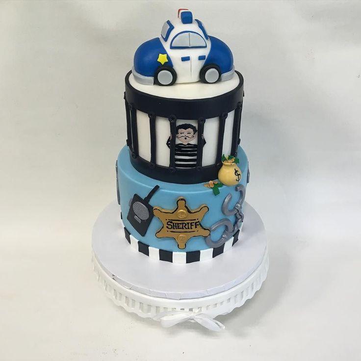 Police Officer Birthday Cake Ideas