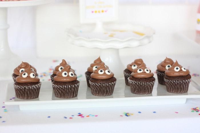 Poop Emoji Birthday Party Ideas
