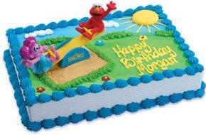 Astonishing 4 Elmo Decopac Cakes Photo Sesame Street Birthday Cake Publix Personalised Birthday Cards Veneteletsinfo