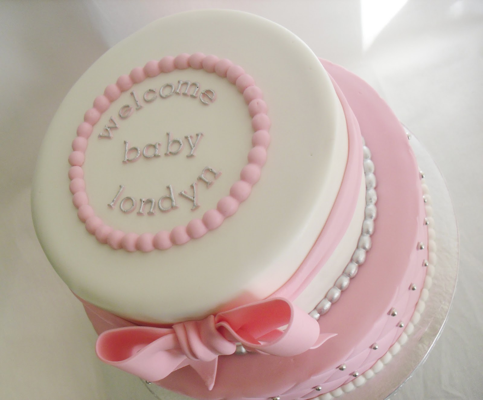 11 Red And Pink Baby Shower Cakes Pink Baby Shower Cake