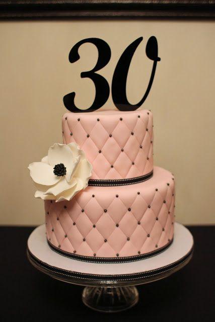 Stupendous 9 30Th Birthday Cakes For Women Photo 30Th Birthday Cake Ideas Funny Birthday Cards Online Overcheapnameinfo