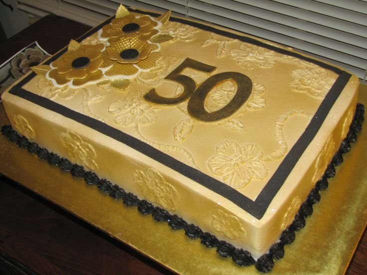 Sheet Cake Designs For 50Th Anniversary idea gallery