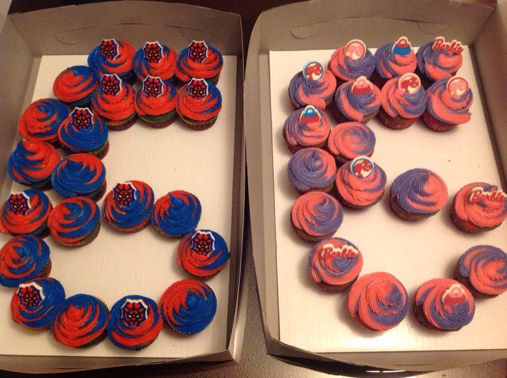 6 Year Old Boy Birthday Cupcake Ideas