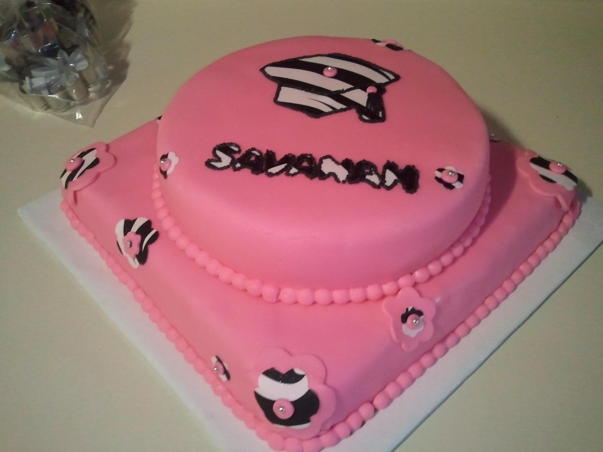 8th Grade Graduation Cake