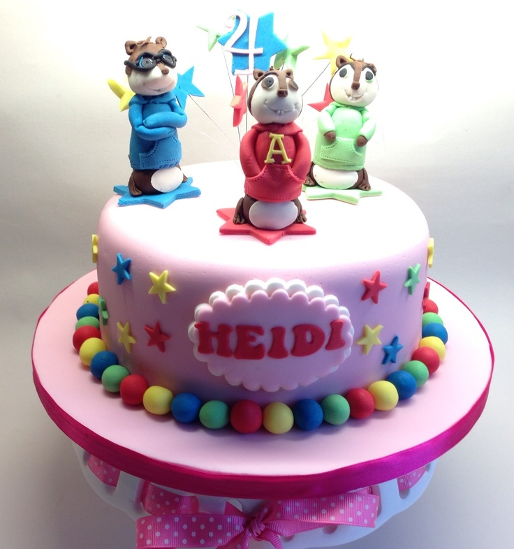 Terrific 11 Cakes In Alvin Photo Alvin And The Chipmunks Cake Ideas Funny Birthday Cards Online Alyptdamsfinfo
