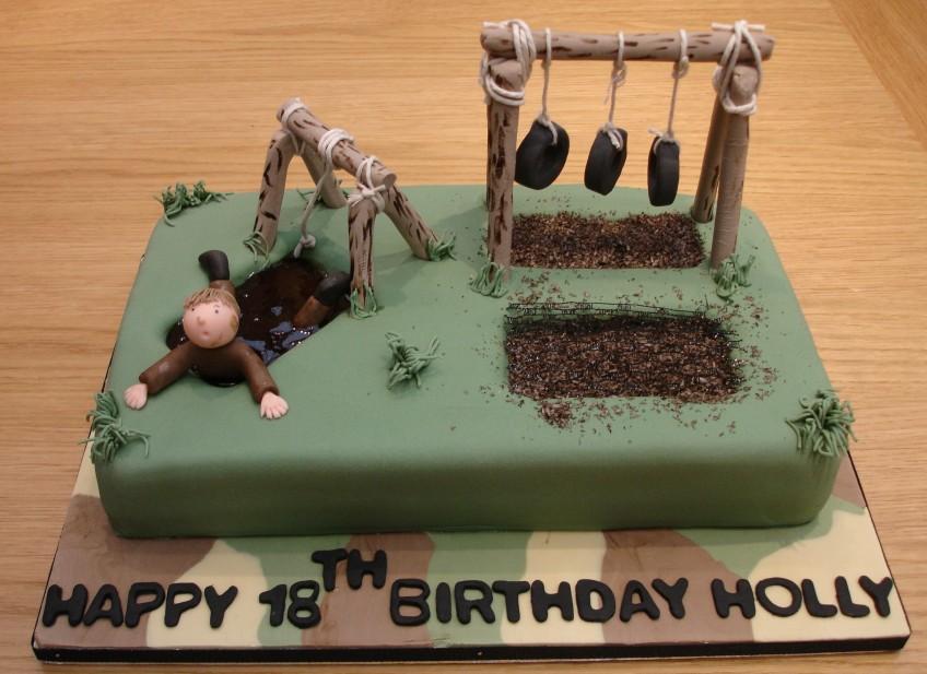 Wondrous 12 Military Cakes For Girls Photo Army Birthday Cake Army Theme Personalised Birthday Cards Paralily Jamesorg