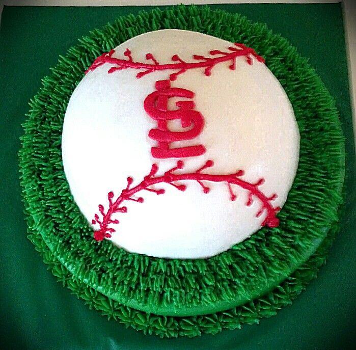 Astounding 6 Stl Cardinals Cakes Photo St Louis Cardinals Happy Birthday Personalised Birthday Cards Arneslily Jamesorg