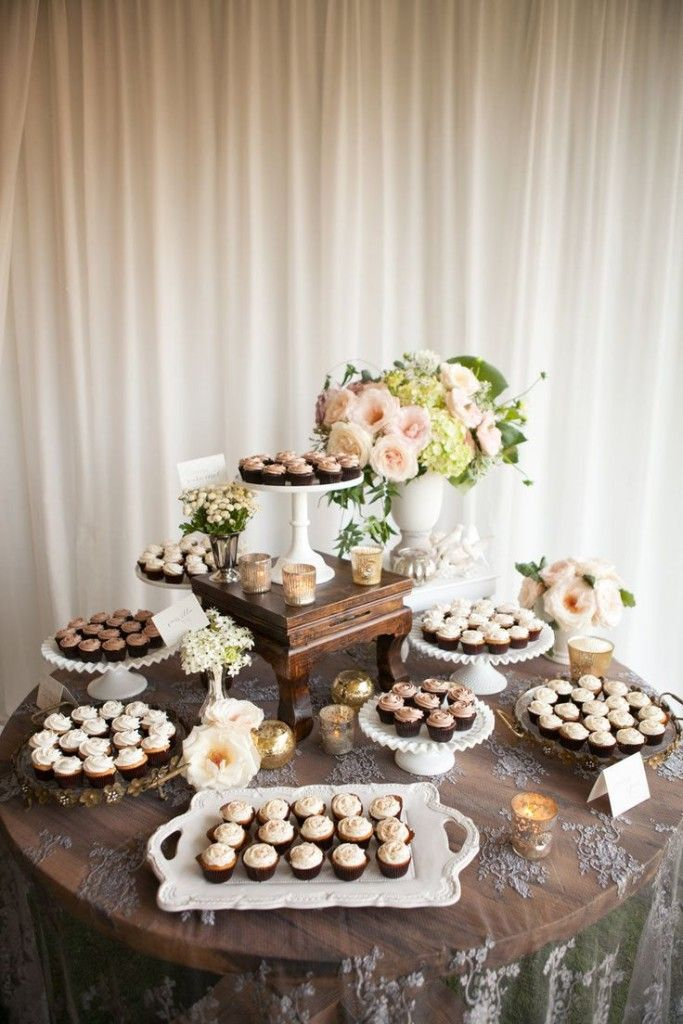 9 Displaying Cupcakes At A Wedding Reception Photo Wedding Cupcake