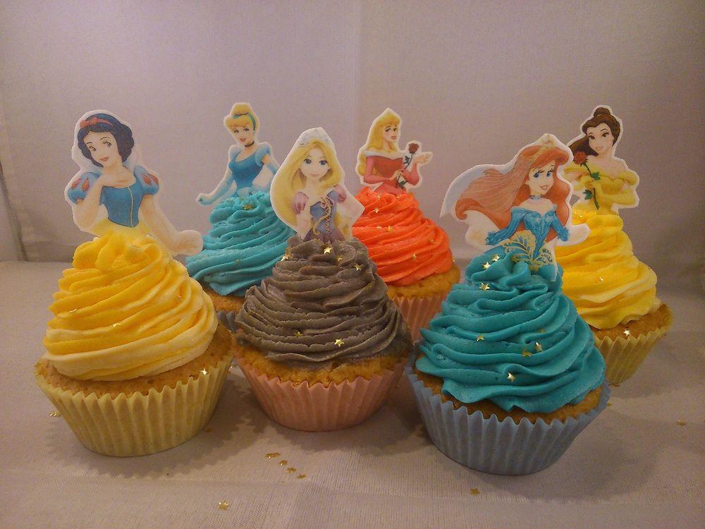 11 Disney Princess Cakes And Cupcakes Photo Disney Princess Edible