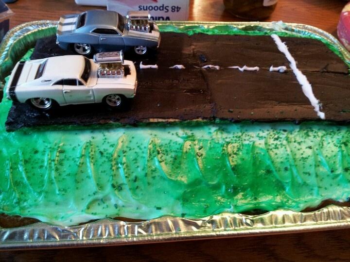 13 Drag Car Birthday Cakes Photo Drag Racing Cake Ideas Drag